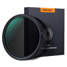 K&F Concept 67mm ND Camera Lens Filter ND8-ND128 Variable NO X Spot 3 Stop-7Stop