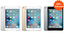 LATEST Apple iPad Mini 2 3 4 ✤ WIFI+LTE ✤ 16GB 32GB 64GB 128GB Black White Gold