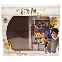 NWT Harry Potter Smash Bullet Journal Stencil Stickers Stamps Art