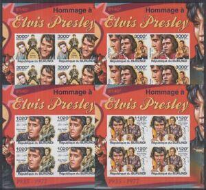 Z458. Burundi - MNH - Famous People - Elvis Presley - Imperf