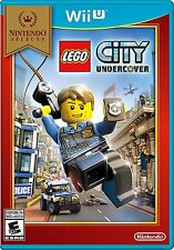 WII U LEGO CITY UNDERCOVER BRAND NEW FACTORY SEALED NINTENDO SELECTS