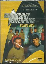 Star Trek Raumschiff Enterprise Bonus DVD  FedCon NEU OVP Sealed