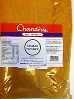 Chandru's  Sambar Powder (Spice Mix)- 200g(7oz) 400g(14oz) packs- US Seller