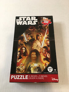 NEW Star Wars Jigsaw Puzzle Luke Skywalker 300 Pieces Disney New 11 x 14 SEALED