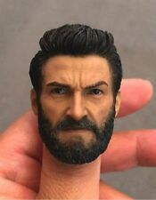 1/6 Scale Wolverine Logan Hugh Jackman Head Sculpt Model Toys F 12'' Figure Body