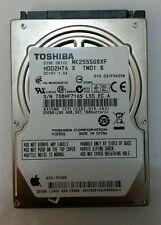 TOSHIBA MK2555GSXF 250GB SATA Laptop Drive HDD2H74 X TW01 S F/W: 010 D3/FH405B