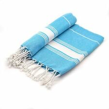 Turkish Beach / Bath / Hammam, Peshtemal Fouta Towel 100% Cotton - Light Blue