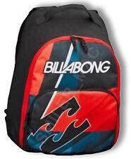 Billabong Flair Backpack Rucksack School Raid Vantage Bag Red Black College Gym
