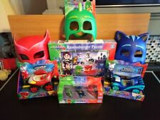 NEW PJ Mask Catboy, Gekko and Owlette  Bundle with 2 booster cars Brand new