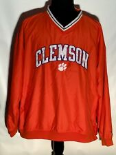 University of Clemson Tigers Embroidered Team Logo Pro Player XL Pullover Jacket