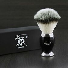 Stunning Synthetic Badger Shaving Brush Hand-Crafted in England Men´s Grooming