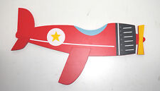Crown Crafts Wall Hanging - Red Airplane - * Unique *