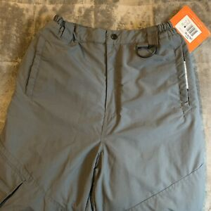 Boys Water Resistant Snow Pants Gray Lined Thick Warm Athletech NWT SZ. XL 14/16