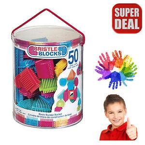 Autism Sensory Blocks Piece Builder Toy Educational Special Needs Basic Bucket