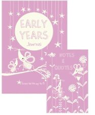 'Early Years' Journal-Pink/ Baby Girl- 'Birth-5 Years' Keepsake Parenting Book