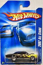 HOT WHEELS 2007 ALL STARS 1967 PONTIAC GTO BLACK