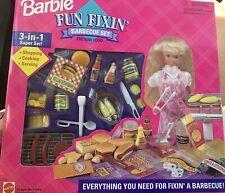 Barbie Fun Fixin' Barbecue Set 1995