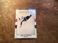1991 Us Olympic Hall Of Fame Trading Cards By Impel #3 Jim Thorpe