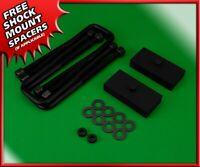 """Rear Lift Kit 1"""" STEEL Blocks w/ U-Bolts For 2005-2020 Toyota Tacoma 2WD 4WD"""