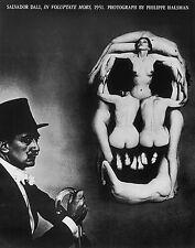ART PRINT - Salvador Dalí, In Voluptate Mors, 1951 Philippe Halsman 30x24 Poster