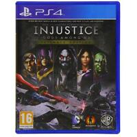 Injustice Gods Among Us PS4 - Ultimate Edition for Sony PlayStation 4 NEW SEALED