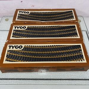 Vintage Lot Train Track - Tyco HO Scale Straight; Curved 40+ Pieces