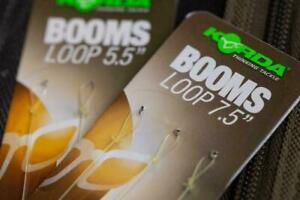 """Korda Ready Tied Boom Hooklink - Loop 5.5"""" or 7.5"""" All Sizes"""