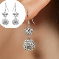 pierre crochet de boucles d'oreilles argenté papillon oreille étalon des bijoux