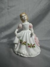 Royal Doulton Woman Figurine Figure of the Month December (Hn3329) Lady