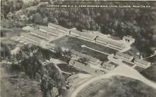 Illinois, IL, Utica, CCC Camp Starved Rock 1935 Postcard
