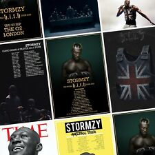 STORMZY Album & Tour PHOTO Print POSTER Heavy Is the Head Gang Signs Prayer hith
