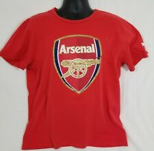 Arsenal FC Red Puma Cotton T Shirt Size XL