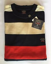 NEW Paul & Shark Yachting Sweater Girocollo Pullover 3XL XXXL 100% NEW PURE WOOL