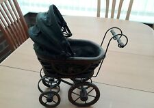 Duch Vintage Dolls Pram carriage Pushchair The size are abut 30 cm x 31 cm.
