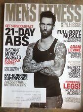ADAM LEVINE Men's Fitness Magazine March 2015