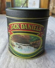 Jack Daniels Old No. 7 Empty Tin Round Bristol Ware