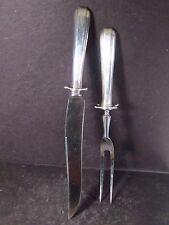 Towle Sterling ARISTOCRAT 2PC CARVING SET Mono N