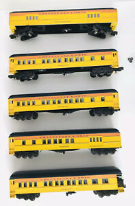 "WILLIAMS ""O"" gauge 3 rail CHESAPEAKE & OHIO PASSENGER SET # 2514"