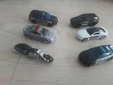 Lot of 6 die cast Police vehicles, Hot Wheels and Matchbox