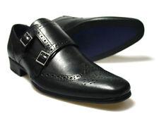 Red Tape Tempo Negro de Cuero para Hombre Zapatos UK 7-12 RRP £ 50 Gratis Reino Unido P&p!