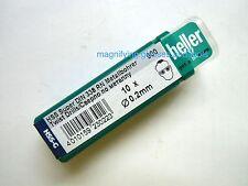 0.2mm Quality Heller German HSS-g HSS Super Jobber Micro drill bits X 10