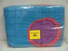 BOMBAY KIDS QUEEN SIZE QUILT AND 2-PILLOW SHAMS SET (NEW IN BAGS) WITH TAGS