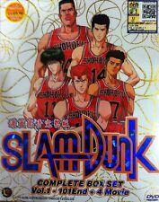 DVD Slam Dunk Complete DVD series Vol 1-101 end + Free Anime