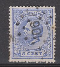 NVPH Netherlands Nederland 19 TOP CANCEL TILBURG (106) Willem III 1872