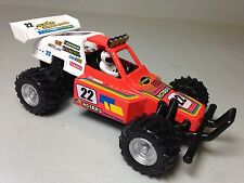 "Turbo Buggy, Sandrail, 5.25"" Diecast Model, Pull Back Action, Toy Car Orange"