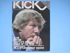 1981 VANCOUVER WHITECAPS LOS ANGELES AZTECS NASL KICK SOCCER PROGRAM ALAN HINTON
