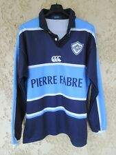 Maillot rugby CASTRES OLYMPIQUE vintage collection manches longues L