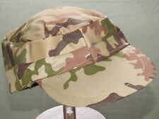 "Egyptian Gulf War ""SCRAMBLED EGGS"" CAMO FATIGUE CAP Vtg Camouflage Combat Hat"