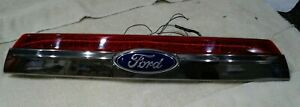 2010-12 Ford Fusion Trunk Deck Lid Trim Finish Panel W/ Back Up Camera OEM BLACK