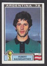 Panini - Argentina 78 World Cup - # 204 Herbert Baumgartner - Osterreich